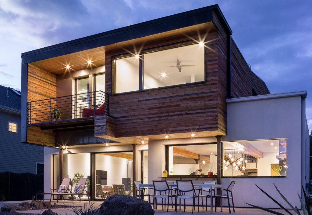 Picture of a Passive House designed by Fuentes Design in Boulder, Colorado